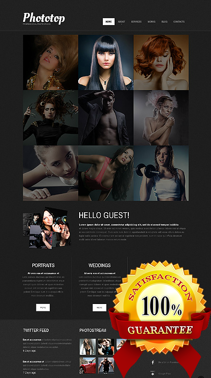 Web Designer Belgium- Photo-Studio